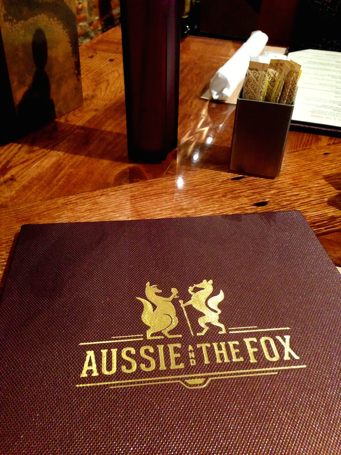 Aussie and the Fox