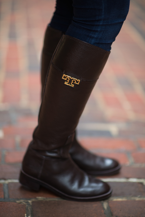 4bcc59b8032c Tory Burch Joanna Riding Boots
