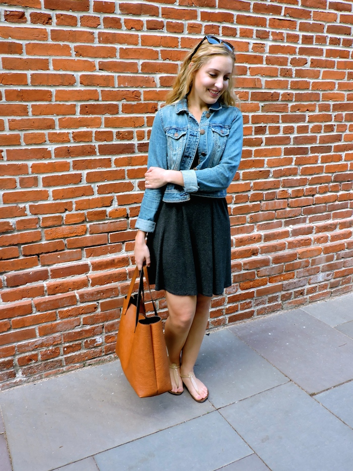 Madewell Swing Tee Dress