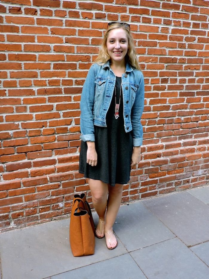 Madewell Swingy Tee Dress