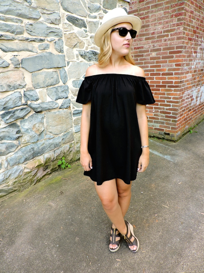 Asos Off the Shoulder Dress