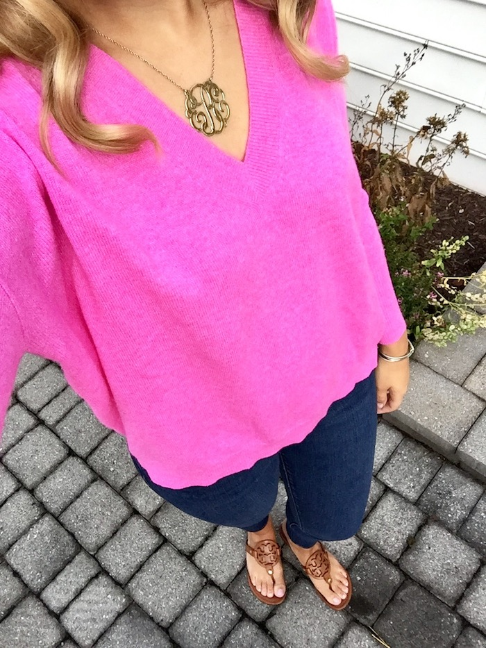 J.Crew Boyfriend V-Neck Cashmere Sweater