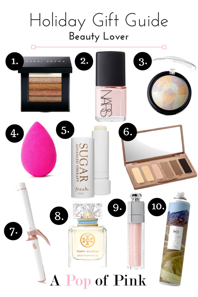Holiday Gift Guide - Beauty Lover