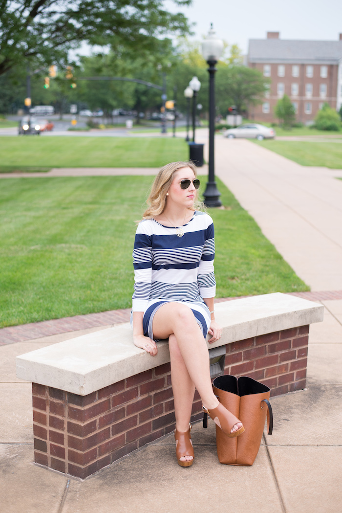 Lilly Pulitzer Striped Boatneck Dress