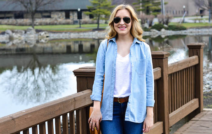 Madewell Classic Chambray Shirt