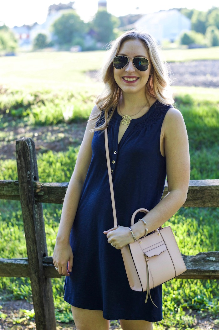 Lilly Pulitzer Navy Essie Dress