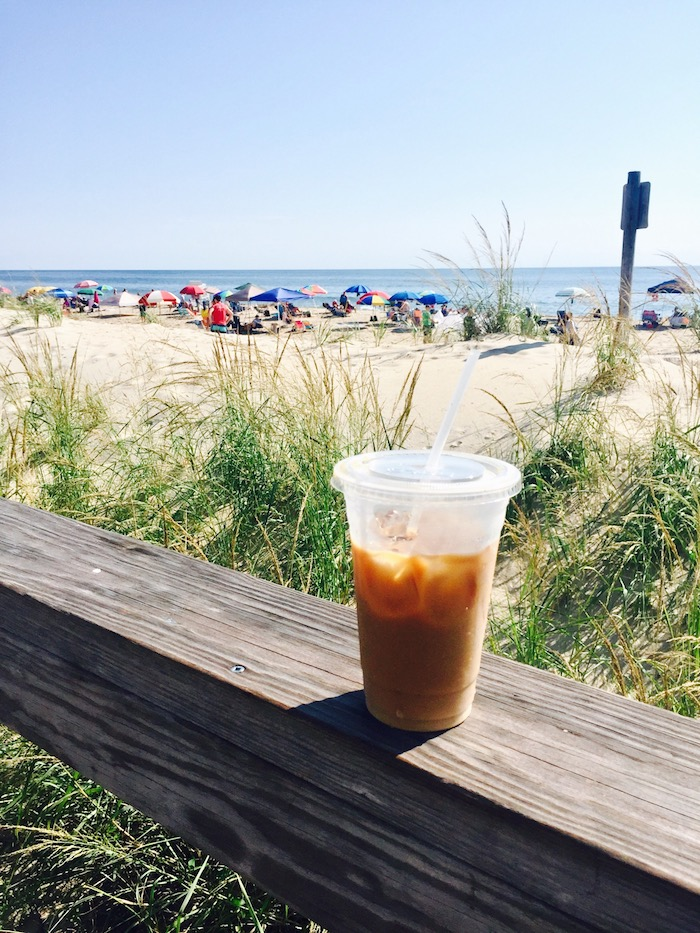 Beach and Coffee