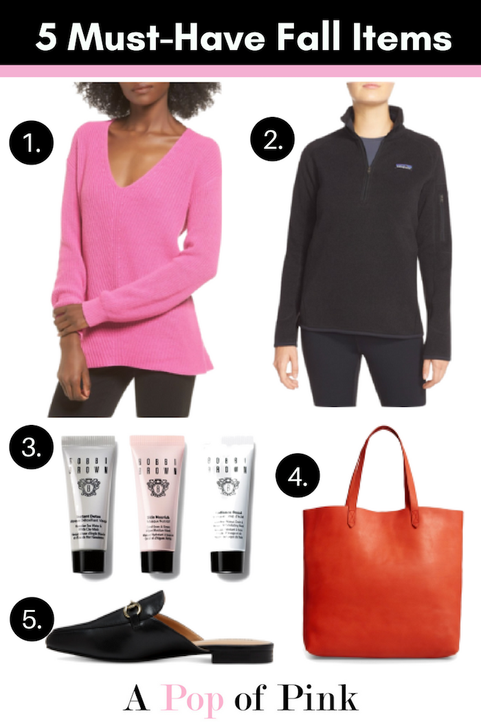 5 Must-Have Fall Items