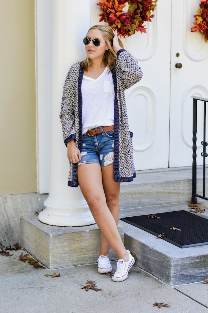 Caslon Cardigan for Fall
