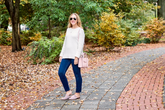 Fall Outfit with Franco Sarto Mules