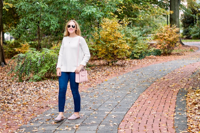 Fall Outfit with Franco Sarto Mules-3