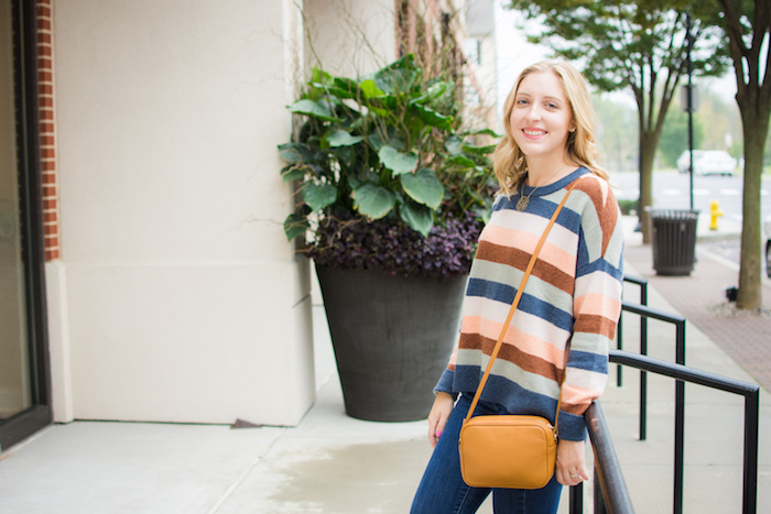 Striped Madewell Pullover Sweater