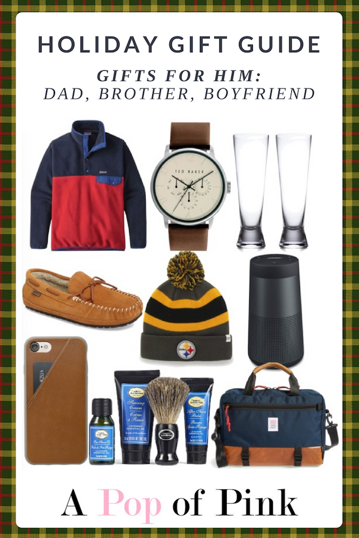 Holiday Gift Guide - Gifts for Him