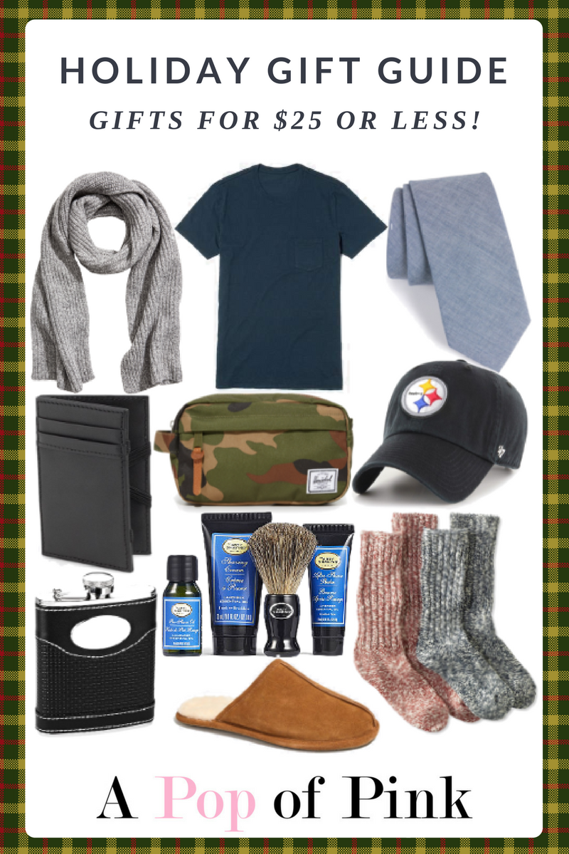Holiday Gift Guide - Gifts for Guys Under $25