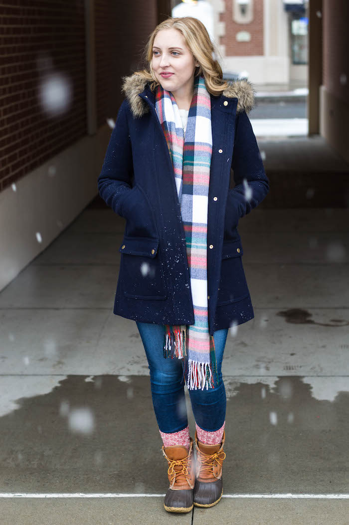 J.Crew Factory Winter Outfit