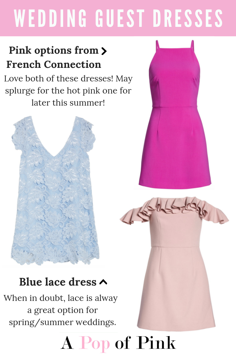 bae34ca5575 Where I Shop for Wedding Guest Dresses: Nordstrom: Plenty of options,  including French Connection ...